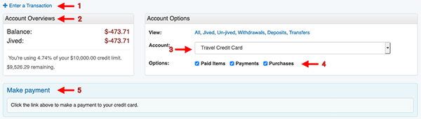Credit Card Payment tool - Overview