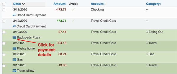 Credit Card Payment tool - Payment details