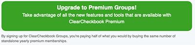 Premium Group Membership - Signup Button