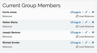Premium Group Membership - Current group members